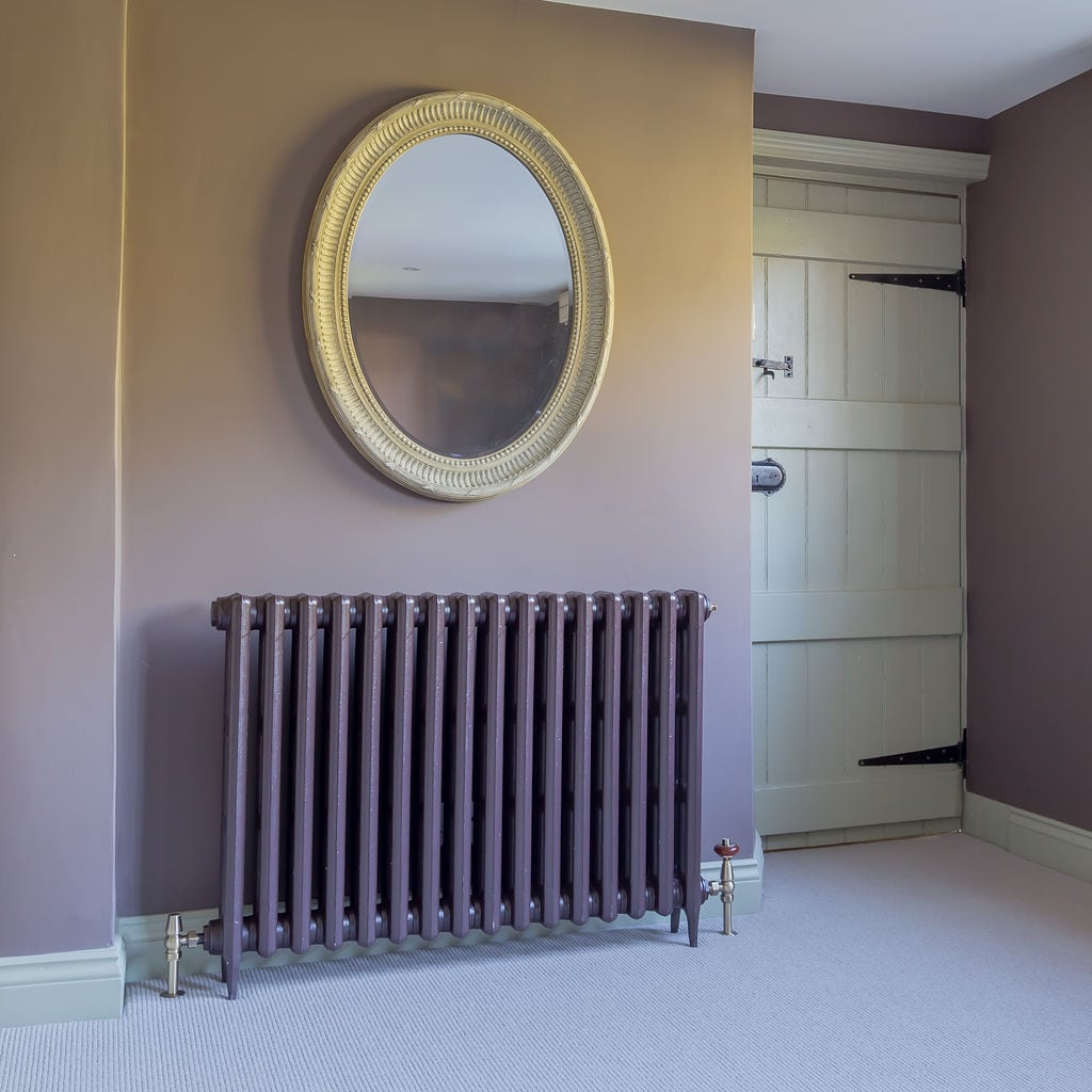 Mahogany Traditional Victorian Radiator Room Setting