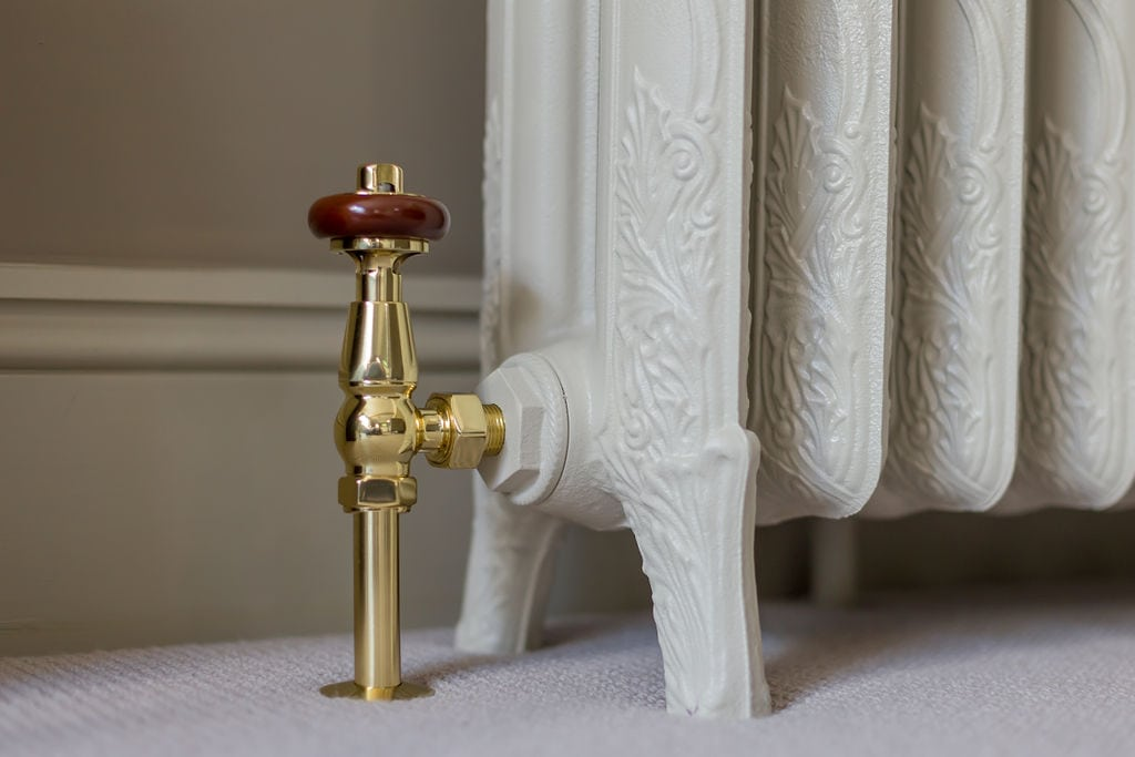 Drop Cloth Designer Radiator with Valve